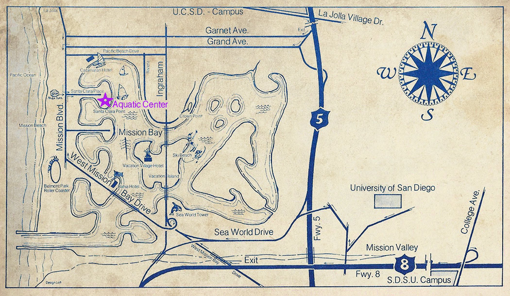 Map to MBAC circa 1979.