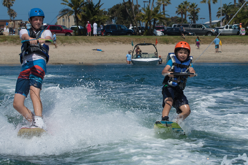 Wakeboarding at Camp