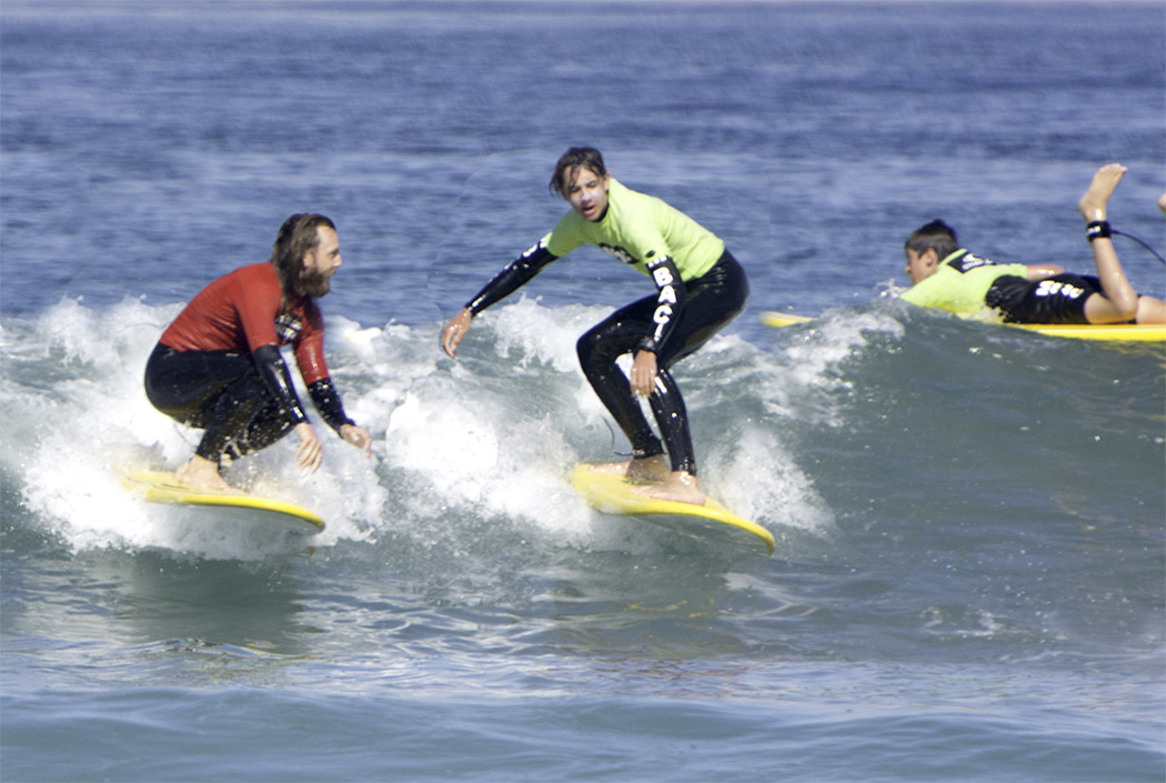 Surfing The Watersports Camp At Mission Bay Aquatic Center